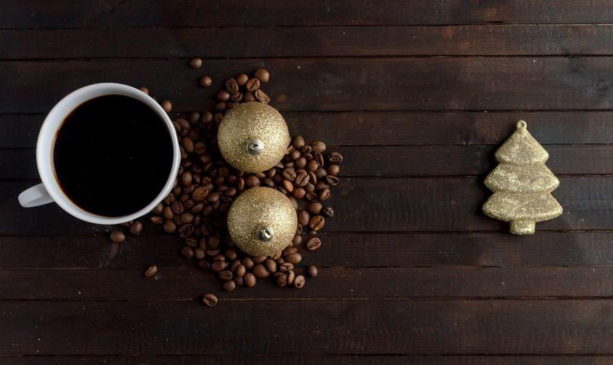 5 idee originali per decorazioni natalizie con i chicchi di caffè