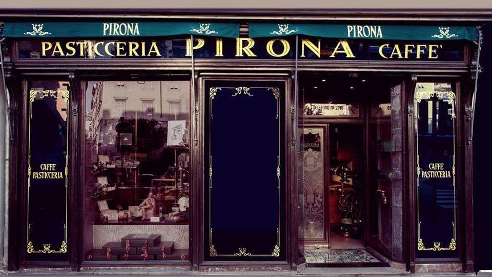 Alla Caffetteria Pirona di Trieste con James Joyce