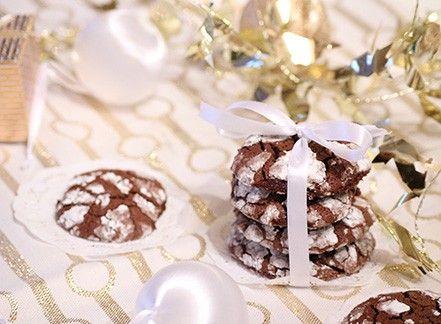 Biscotti cioccolato, caffè e brandy
