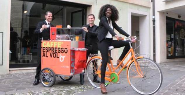 Coffee Bike: l'espresso su ruote