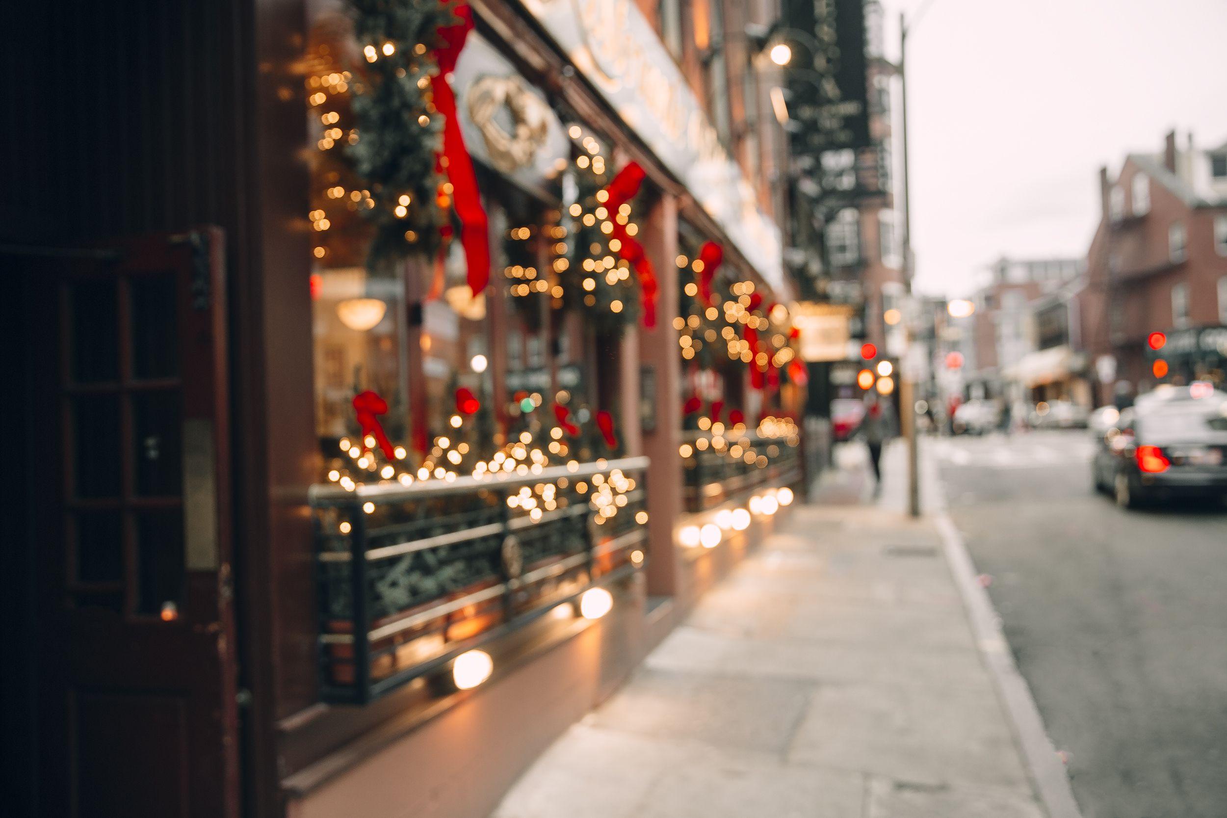 Come rendere natalizio il tuo bar