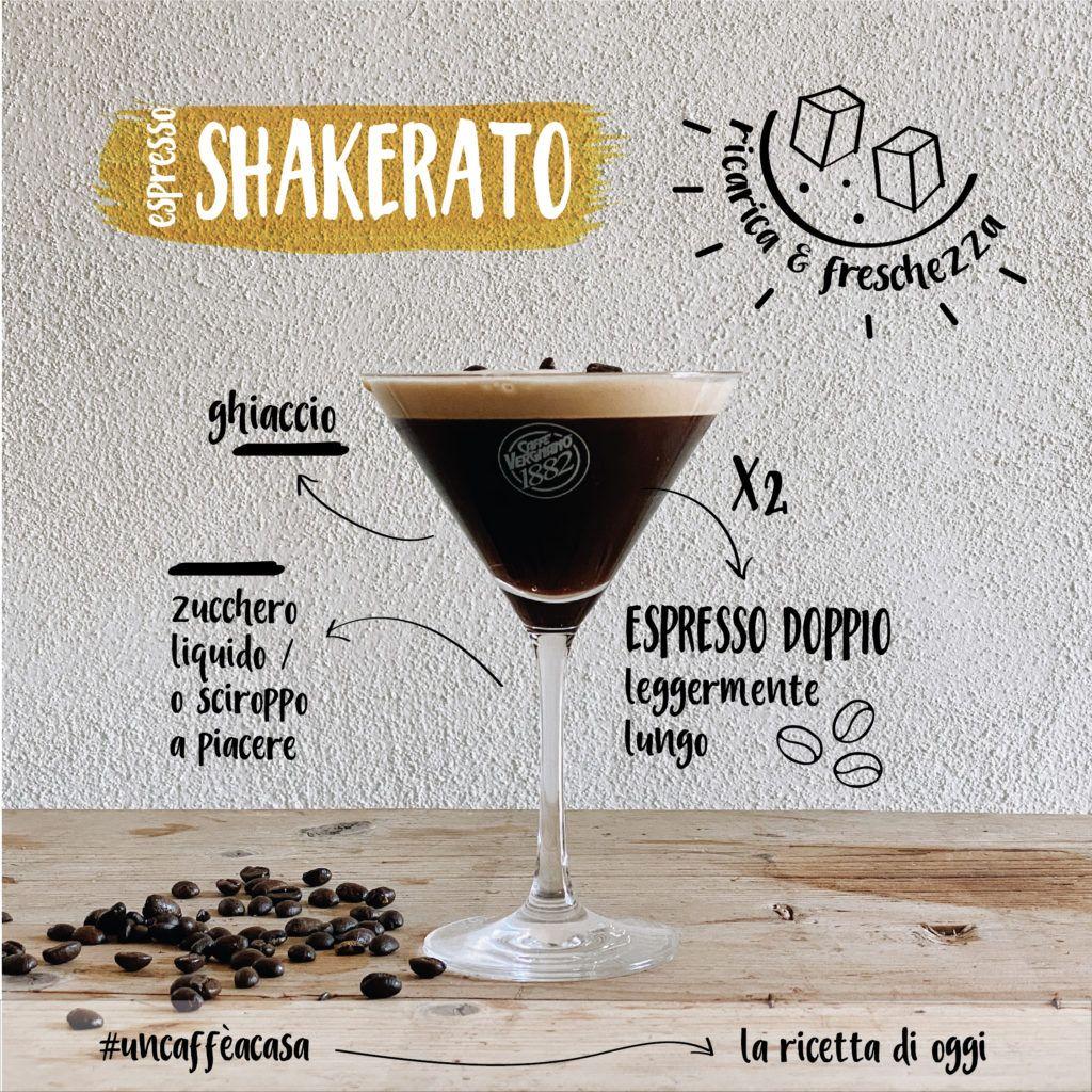 Drink al caffè: la ricetta del caffè shakerato