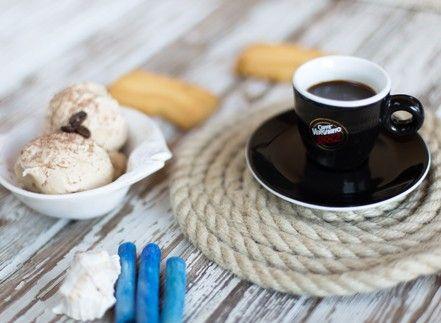 Gelato al caffè senza gelatiera…E non è un pesce d'aprile!