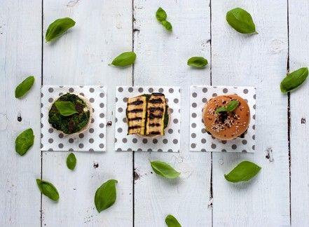 Hamburger di spinaci