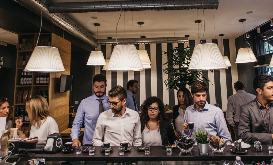 Il rito italiano del caffè al bar