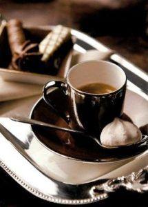 Il vassoio del caffè di Natale di Csaba