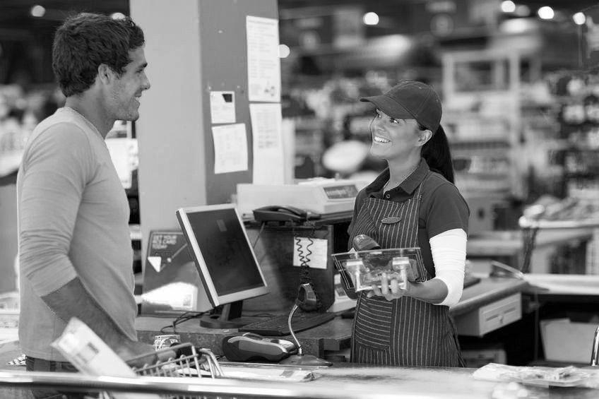 La ragazza del supermercato