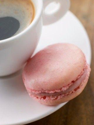 Macarons alla rosa