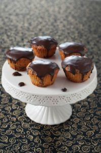 Muffin al caffè nero