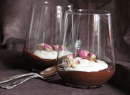 Ricetta della mousse rose e caffè