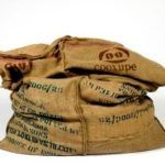 Sacchi di caffè: eco design