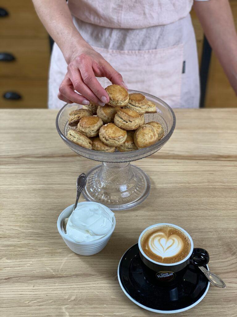 Scones al caffè, la ricetta di Csaba dalla Zorza