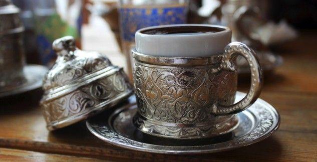Selbstgemachter türkischer Kaffee