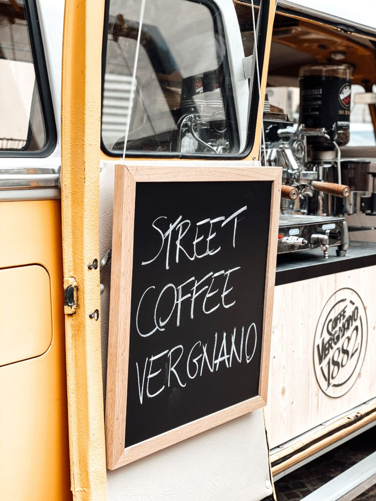 Street coffee Vergnano