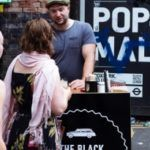 The black cab coffee di Londra