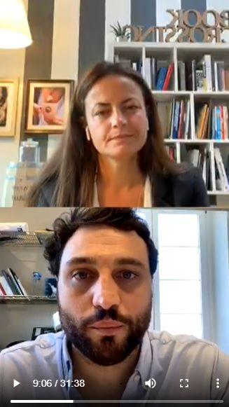Un caffè con…Carolina Vergnano dialoga con Nicola Farinetti