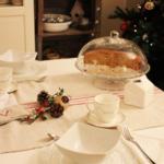 Una colazione in periodo natalizio