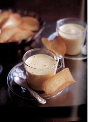 zabaione al caffè con cialde