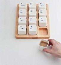 keyboard coffee cups 205x218