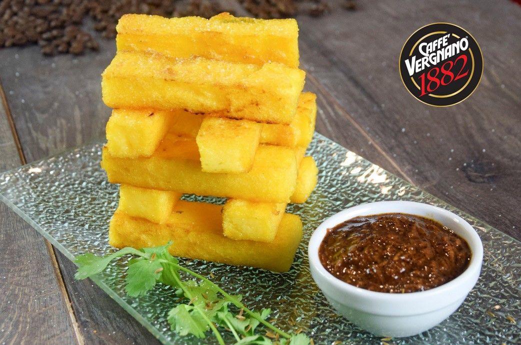 stick di polenta con chutney di carote e caffe3