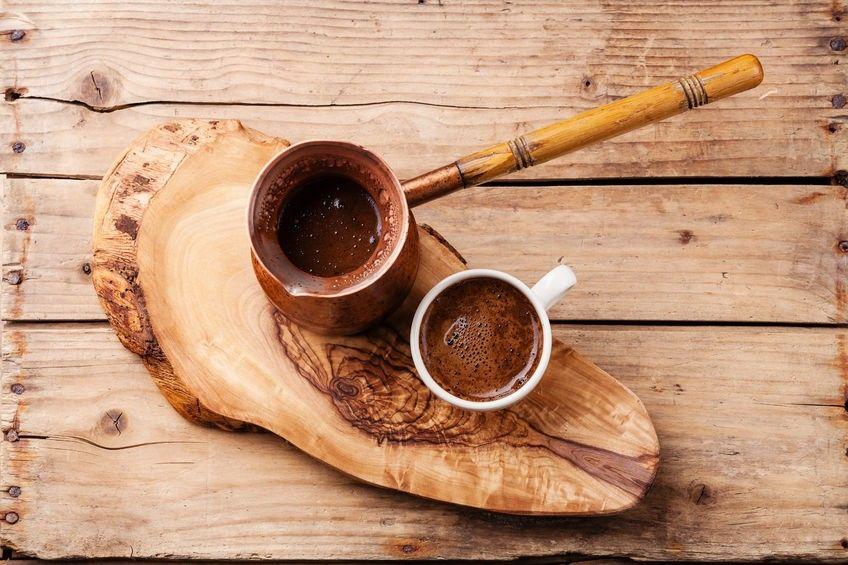 règles pour parfait café turc