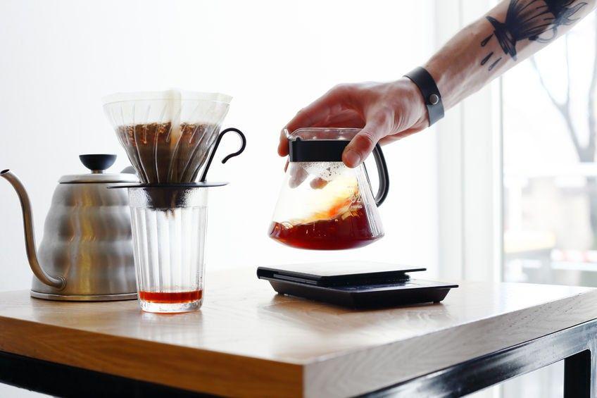 café pour over