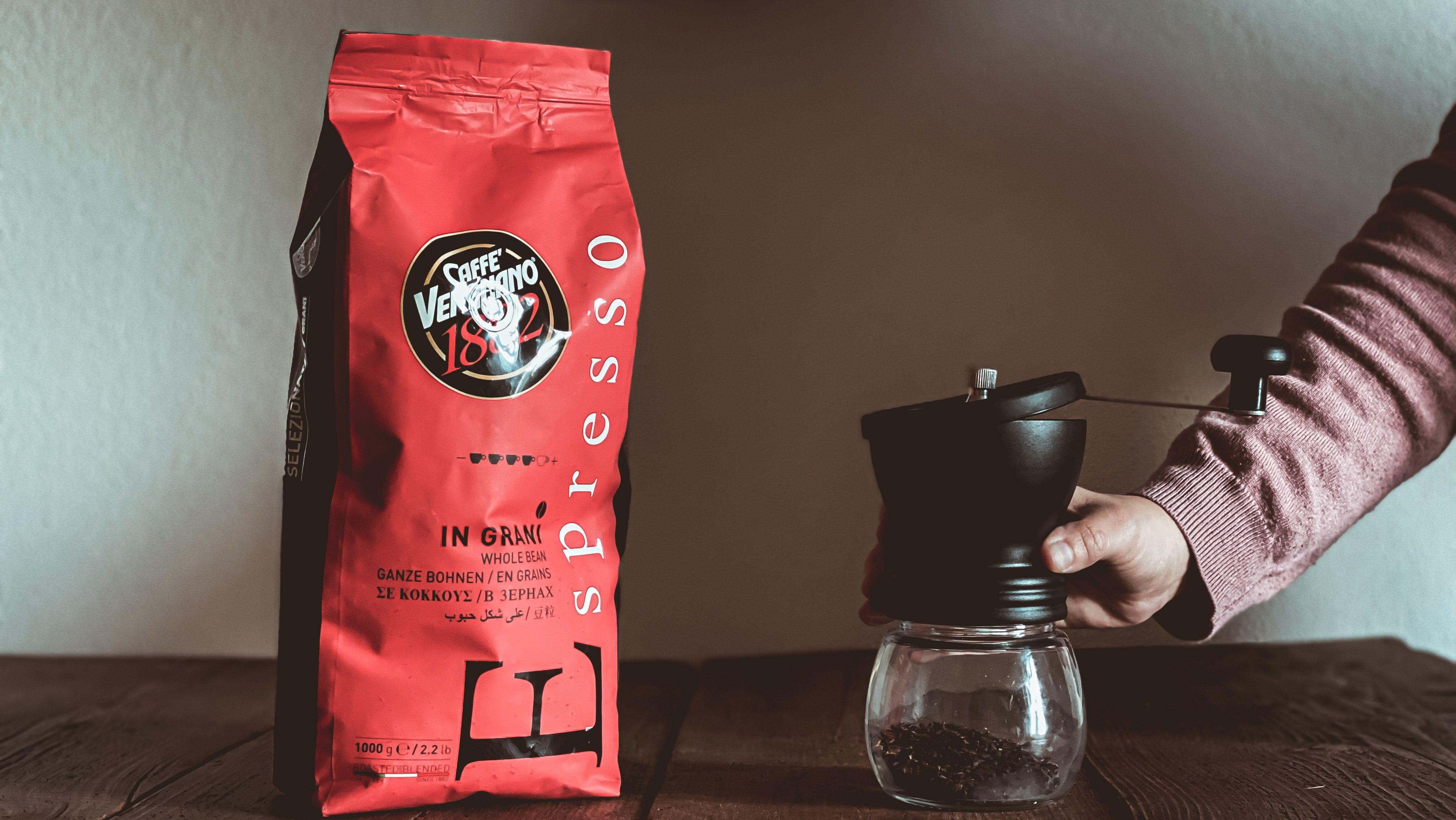 cropped miscela espresso grani