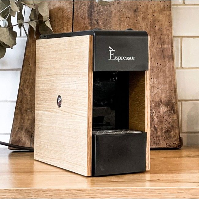 macchina caffe tre rovere naturale