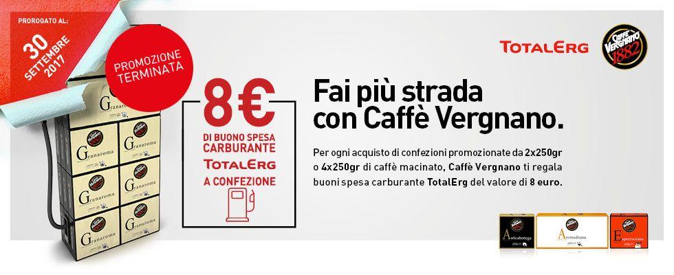 CAFFÈ VERGNANO E TOTALERG