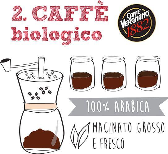 caffe biologico vergnano