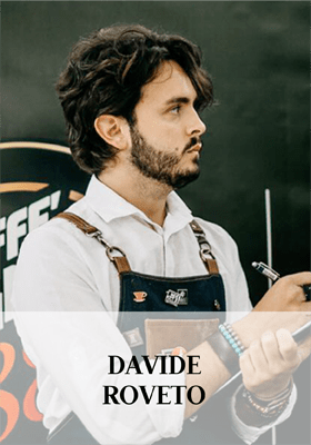 Davide Roveto, trainer of the Accademia | Caffè Vergnano