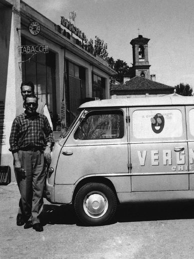 The van used by Domenico Vergnano | Caffè Vergnano