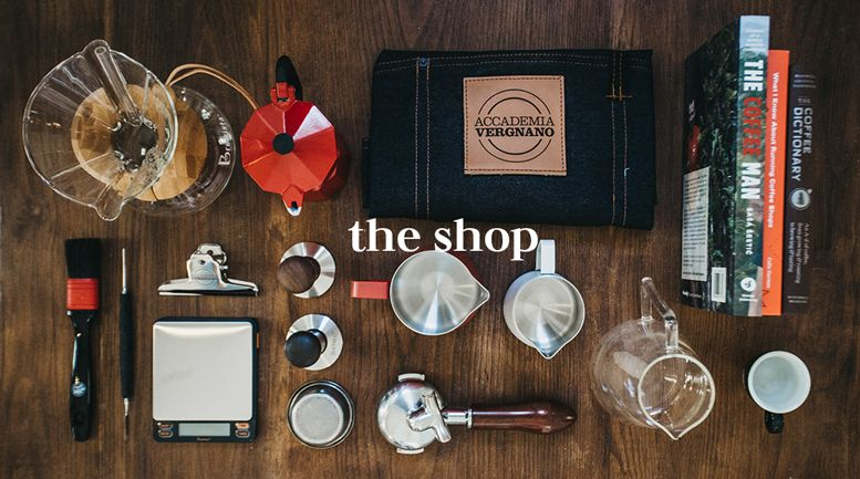 The shop of the Accademia | Caffè Vergnano