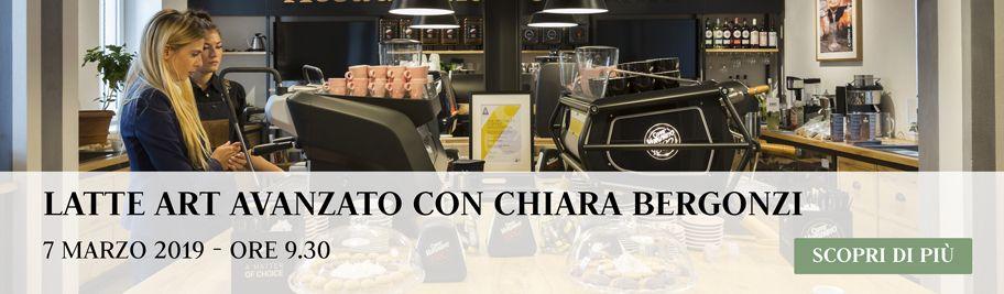 Latte art Avanzato con Chiara Bergonzi