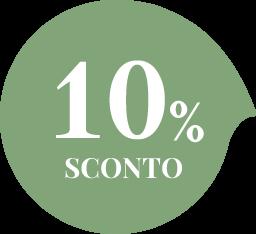 Bollino sconto del 10%